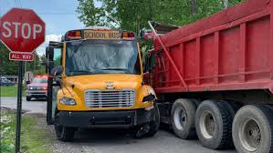 100 Southwest Truck Driving School Decatur Township School Bus Dump Truck Involved In Crash On