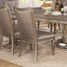 Coaster 107312 Bling Game Series Traditional Wood Frame Dining Room Chair