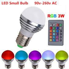 Aliexpress Buy new 1pcs RGB led bulb E27 220V AC Magic Light