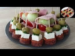 canap ap itif faciles brochettes apéritives rapide et facile aperitif dinatoire la