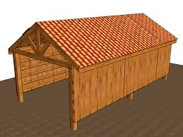 Loafing Shed Plans Portable by 3 Ways To Build A Pole Barn Wikihow