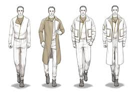 Costume Sketches Fashion Body Outline Man