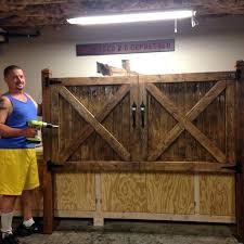 King Size Headboard Diy Barn Door Got An Idea And