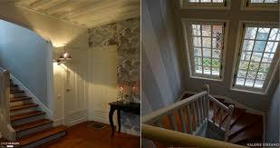 cuisine versailles mise en scène volumes entrée et escalier rénovation