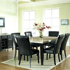 Pier One Dining Room Sets by Marble Top Dining Room Table Sets With Faux White Set Oval