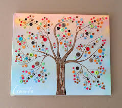 Make This Beautiful Button Tree For Your Home Tutorial Shows You Step