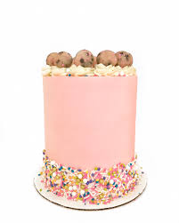 Sprinkle Cookie Dough Cake Cake by Courtney