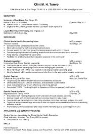 Mental Health Therapist Resume Examples 33 Download Sample Counselor Roddyschrock Of 31 Best