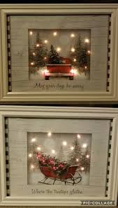 Pictures Made By A Craft Artist With Dollar Store Gift Bags Battery LED Lights And Frames