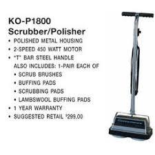 Koblenz Heavy Duty Floor Scrubber by Koblenz Floor Polishers Sears