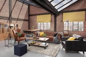 industrial loft wohnzimmer modern
