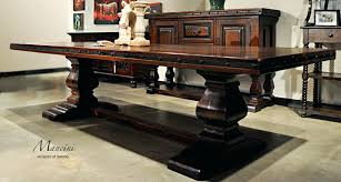 Rustic Style Furniture Dining Room Tables Nice On Other In Hacienda