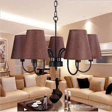Retro Loft Vintage Pendant Lighting Chandeliers Decorations For Living Room Dining Black White Fixtures Contemporary