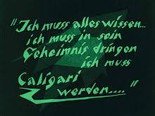 The Cabinet Of Doctor Caligari Youtube by The Cabinet Of Dr Caligari Wikipedia