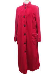 robe de chambre en robe de chambre peluche régence mauve boutique de
