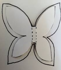 Three Cut Out Your Larger Butterfly And Paint The Back Of Butterflies With Paints Once Has Dried Give Them A Nice Thick Coating