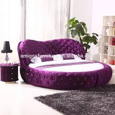 2015 Luxury Fabric Round Bed Circle Bed Frame Sale Buy Latest