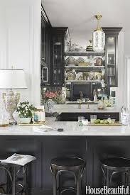 100 Sophisticated Kitchens 11 Black Black Cabinet And Backsplash Ideas