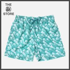 100 Coc Republic O Mens Jellyfish Board Shorts In Turquoise