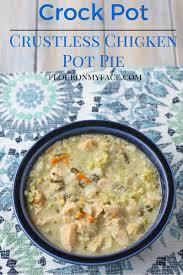 Crustless Pumpkin Pie Slow Cooker by Crock Pot Crustless Chicken Pot Pie Flour On My Face