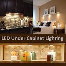 Pack Of 6 Units LED Under Cabinet Lighting Kit 1020lm Puck