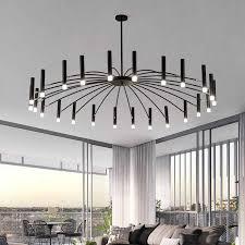 moderne design kronleuchter beleuchtung wohnzimmer