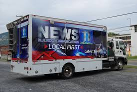 TV Production Truck Wrap In Palmerton PA - IDwraps