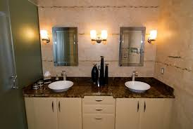 Modern Led Bathroom Sconces by Led Bathroom Vanity Lights White Marble Table Sink Counter Top