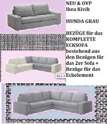 ikea kivik bezug ecksofa eckelement isunda grau neu sofa