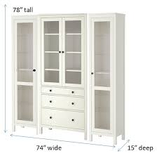 Ikea Hemnes Linen Cabinet Dimensions by Using Several Ikea Hemnes Cabinets I U0027m Hoping To Hack This Into A