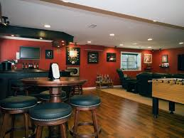 Unfinished Basement Ceiling Paint Ideas by Finished Basements Add Space And Home Value Hgtv