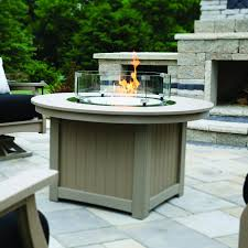 Premium Poly Patios Millersburg Oh by Berlin Gardens Donoma Fire Pit With Poly Top Accessories