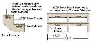 Azek Porch Flooring Sizes by Azek Deck Installation From Vintage Woodworks