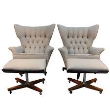 Pair Of G-Plan Blofeld Lounge Chairs With Matching Ottomans At 1stdibs Midcentury Ding Chairs By Victor Wilkins For Gplan 1960s Set G Plan Mid Century Extending Table And Chair Teak Retro Vintage In Sale Of 8 Chney Court Three Piece Lounge Suite Misty Cream Cover Danish Beige Fabric Armchair Denmark Eames Malvern Leather Recliner Tr Hayes Fniture Store Of 4 Vinterior Egomme Siesta Model 411 G Plan Recliner Chairs One Pair Plan Armchairs Dunfermline Fife Rare Vintage Leather Housemaster Chair Kofod Larsen The Most Comfortable World 6250 Model