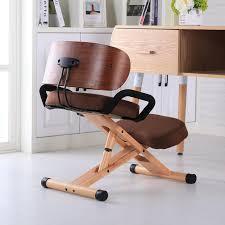 Ergonomic Office Kneeling Chair For Computer Comfort by Sufeile Stool Ergonomic Rocking Wooden Kneeling Computer Posture