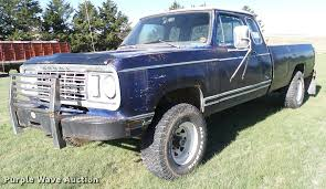 1978 Dodge Power Wagon W200 Pickup Truck | Item DA6193 | SOL... 1978 Dodge Dw Truck For Sale Near Cadillac Michigan 49601 File1978 D500 Truckjpg Wikimedia Commons D100 Pickup W1301 Dallas 2018 Warlock Sale Classiccarscom Cc889204 Chrysler Sales Brochure Mopp1208101978dodgelilredexpresspiuptruck Hot Rod Network Ram Charger Truck Dpl Dams On Propane Youtube Found Lil Red Express Chicago Car Club The Nations Daily Turismo Slant Six Custom 4wheel Sclassic And Suv