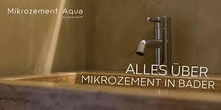 mikrozement aqua vom hersteller cimentart fugenlos und