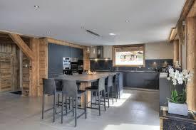 cuisine chalet moderne stunning deco chalet moderne contemporary design trends 2017