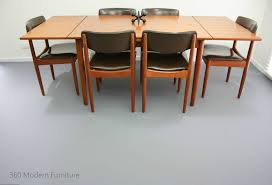 Mid Century Chiswell Dining Table Chairs X 6 Teak Vintage Retro Danish Parker Eames Scandi Era In Home Garden Furniture Room