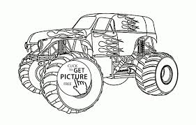 100 Monster Truck Coloring Book Printable Macqueen Cars Page For Kids