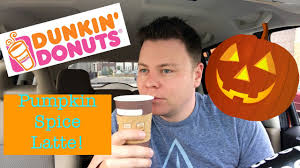 Pumpkin Spice Latte Mcdonalds Calories by Dunkin Donuts Pumpkin Spice Latte Psl Review Youtube