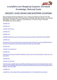 Lovelyskin.com Shopping Coupons By Ben Olsen - Issuu Purifying 2in1 Charcoal Mask With Apricot Derma E Clarins Super Restorative Day Cream All Skin Types 50ml Lovely Skin Coupon Feneberg Angebot Der Woche Luxe Pineapple Post August 2016 Review Coupon Code Sunday Riley Box Summer 2019 Travel Box 20 Small Steps That Will Transform Your Forever How To Add Payment Forms Theres A Lot Of Rarelyonsale Dr Dennis Gross Care Sanre Organic Skinfood Events Uniqso Blog