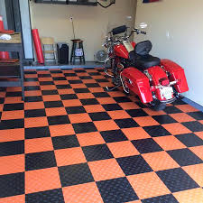 Snap Lock Flooring Kitchen by Diamond Grid Loc Tiles Snap Together Garage Floor Tiles