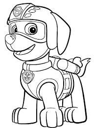 Paw Patrol Tracker Printable Coloring Pages Awesome For Top