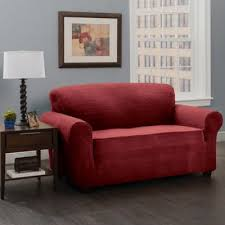 Bed Bath And Beyond Couch Covers by Buy Burgundy Sofa Slipcovers From Bed Bath U0026 Beyond