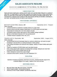 Sales Associate On Resume Cover Letter Sample Companion Examples 2013