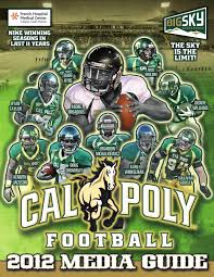 Cal Poly Baker Floor Plan by 2012 Cal Poly Football Media Guide By Cal Poly Athletics Issuu