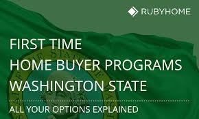 First Time Home Buyer Washington