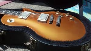 This Guitar Had A Relic Finish Job And New Old Fretboard Added With Thinner Binding I The Covers Gotoh Bridge Tailpiece