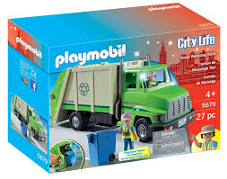 Playmobil - 5679 | City Life: Green Recycling Truck – Castle Toys Gigantic Recycling Truck Review Budget Earth Green Toys Nordstrom Rack Driven Toy Vehicles In 2018 Products Paw Patrol Mission Pup And Vehicle Rockys N Tuck Air Pump Garbage Series Brands Www Lil Tulips Kid Cnection 11piece Light Sound Play Set Made Safe The Usa Recycling Truck Heartfelt Garbage Videos For Children Bruder Recycling Truck Dump Fundamentally